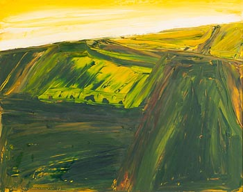 Sean McSweeney, Fields, Sligo (1993) at Morgan O'Driscoll Art Auctions