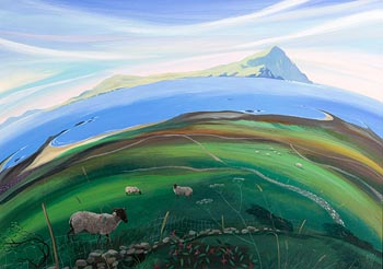 Nicholas Hely Hutchinson, Towards Clare Island at Morgan O'Driscoll Art Auctions