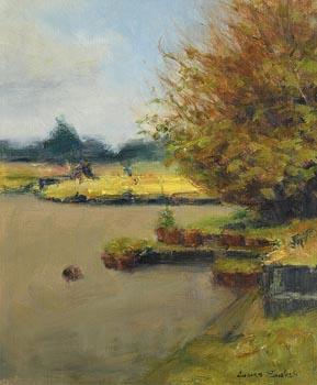 James English, The Garden Centre, April at Morgan O'Driscoll Art Auctions