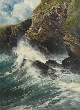 Arthur Reginald Smith, Seascape at Morgan O'Driscoll Art Auctions