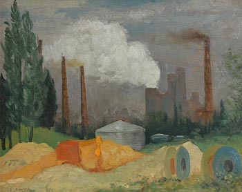 Patrick Leonard, Brussels (1980) at Morgan O'Driscoll Art Auctions