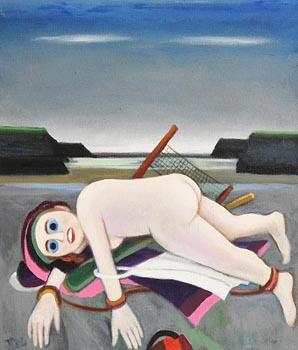 Jack Donovan, Blue Eyes at Morgan O'Driscoll Art Auctions