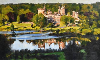 Michael Hanrahan, Dromoland Castle, Co Clare at Morgan O'Driscoll Art Auctions