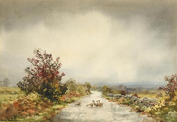 Frank J. Egginton, A Soft Day, Galway at Morgan O'Driscoll Art Auctions
