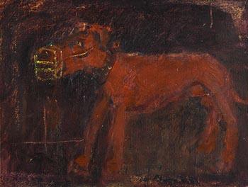 Basil Blackshaw, Muzzled at Morgan O'Driscoll Art Auctions
