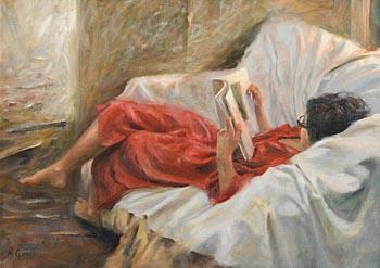 Henry McGrane, Comfy Sofa at Morgan O'Driscoll Art Auctions
