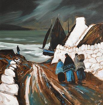 J.P. Rooney, Dogfish Lane at Morgan O'Driscoll Art Auctions