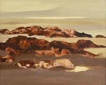 Arthur Armstrong, Distant Rain at Morgan O'Driscoll Art Auctions