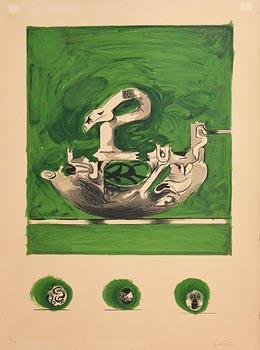Graham Sutherland, Swan (1976/77) at Morgan O'Driscoll Art Auctions