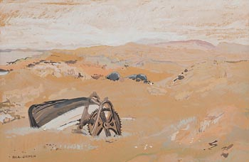 Bea Orpen, Deserted Boat at Morgan O'Driscoll Art Auctions