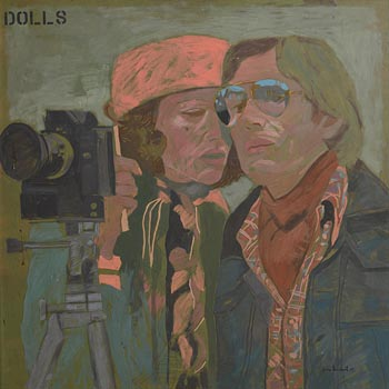 Gene Lambert, Dolls (1975) at Morgan O'Driscoll Art Auctions