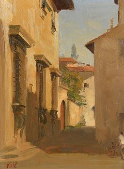 Niccolo d'Ardia, Continental Village at Morgan O'Driscoll Art Auctions