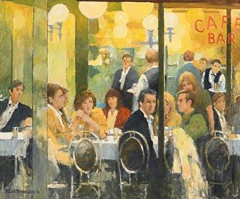 Brian Dennington, Cafe Bar (2016) at Morgan O'Driscoll Art Auctions