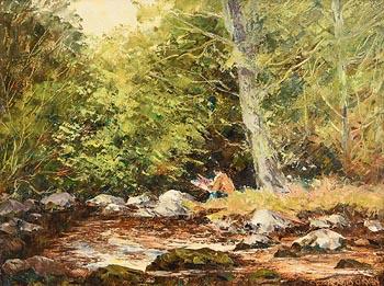 Fergus O'Ryan, The Landscape Painter at Morgan O'Driscoll Art Auctions