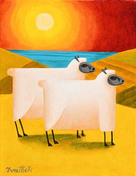 Graham Knuttel, Wooley Sunset at Morgan O'Driscoll Art Auctions
