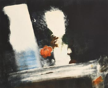 Sophie Aghajanian, Dark Reflection at Morgan O'Driscoll Art Auctions