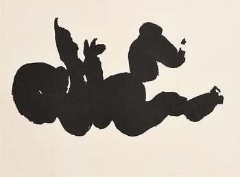 Louis Le Brocquy, The T�in. The Infant C�chulainn (1969) at Morgan O'Driscoll Art Auctions