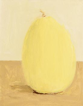 Pat Harris, Yellow Gourd II (2000) at Morgan O'Driscoll Art Auctions