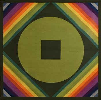 Patrick Scott, Rainbow Rug - Design 7 at Morgan O'Driscoll Art Auctions