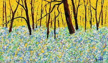 Kenneth Webb, Woodland Meadow at Morgan O'Driscoll Art Auctions