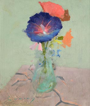 Fred Cuming, Still Life - Flowers in a Vase at Morgan O'Driscoll Art Auctions