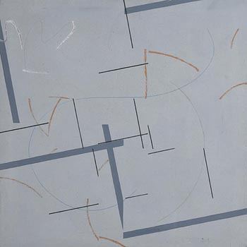 Felim Egan, Grey Cross (1981) at Morgan O'Driscoll Art Auctions