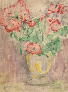 William Conor, Still Life - Vase of Flowers at Morgan O'Driscoll Art Auctions