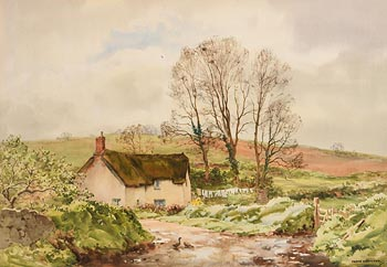 Frank J. Egginton, Devonshire Cottage at Morgan O'Driscoll Art Auctions