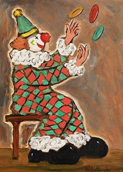 Gladys MacCabe, Juggling Plates at Morgan O'Driscoll Art Auctions