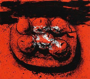 Neil Shawcross, Still Life - Fruit on a Platter (2010) at Morgan O'Driscoll Art Auctions