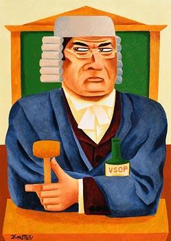 Graham Knuttel, VSOP at Morgan O'Driscoll Art Auctions