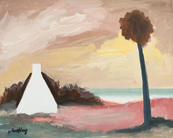 Markey Robinson, Cottage on the Coast at Morgan O'Driscoll Art Auctions