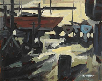 Colin Davidson, Winter at Killyleagh (1996) at Morgan O'Driscoll Art Auctions