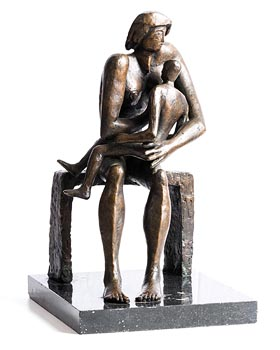 John Behan, Mother and Child at Morgan O'Driscoll Art Auctions