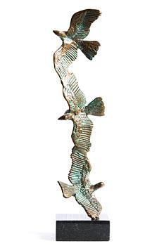 John Behan, Doves in Flight at Morgan O'Driscoll Art Auctions