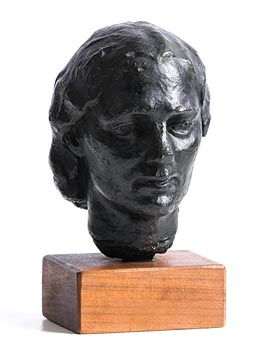Jerome Connor, Head of a Young Woman at Morgan O'Driscoll Art Auctions