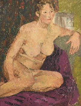 Evelyn Street, Seated Nude at Morgan O'Driscoll Art Auctions