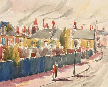Daniel O'Neill, Autumn Day at Morgan O'Driscoll Art Auctions