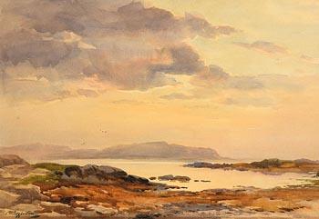 Wycliffe Egginton, A Quiet Evening, Connemara at Morgan O'Driscoll Art Auctions