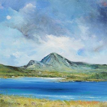 David Gordon Hughes, Mount Errigal, Co. Donegal at Morgan O'Driscoll Art Auctions