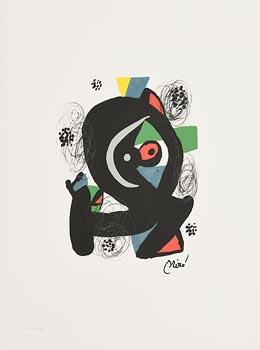 Joan Miro, Acid Melody Series (1983) at Morgan O'Driscoll Art Auctions