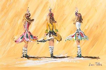 Lorna Millar, Irish Dancers at Morgan O'Driscoll Art Auctions