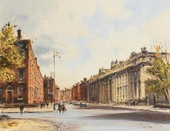 Colin Gibson, Upper Merrion Street, Dublin at Morgan O'Driscoll Art Auctions