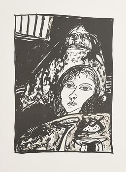 John Bellany, The Death Knell Rings Out (2004) at Morgan O'Driscoll Art Auctions