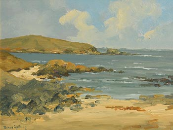 Denis Galley, Clifden Coastline at Morgan O'Driscoll Art Auctions