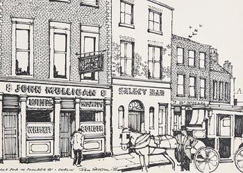 John Skelton, Old Pub in Poolbeg Street, Dublin (1995) at Morgan O'Driscoll Art Auctions