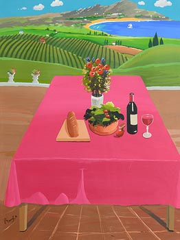 Peter Doyle, Lunch Time at Morgan O'Driscoll Art Auctions