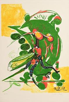 Graham Sutherland, Insect at Morgan O'Driscoll Art Auctions