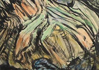 Evie Hone, Cliff Tops at Morgan O'Driscoll Art Auctions