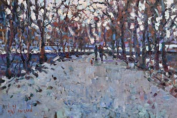 Arthur K. Maderson, Path Across the Lake at Morgan O'Driscoll Art Auctions